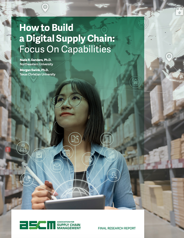 How to Build a Digital Supply Chain: Focus On Capabilities
