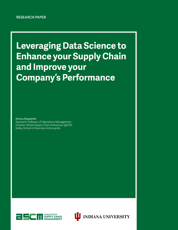Leveraging Data Science to Enhance your Supply Chain and Improve your Company's Performance