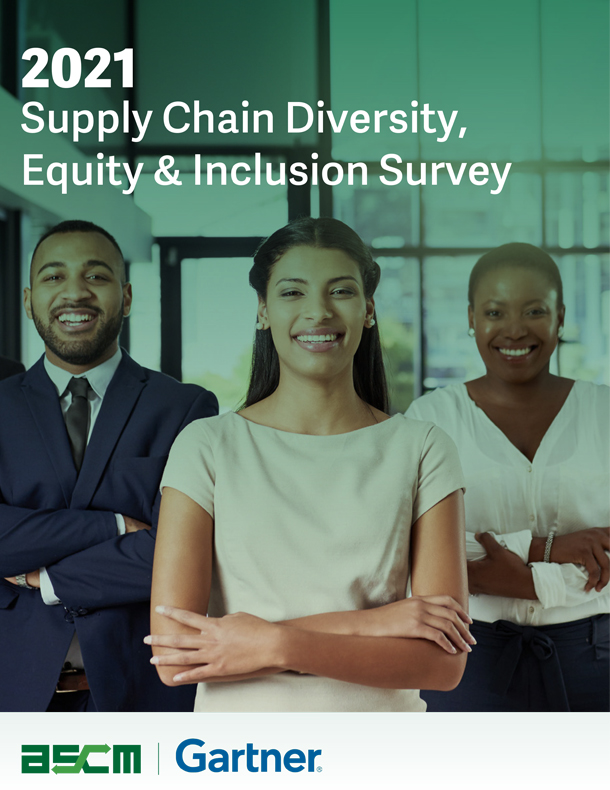 Supply Chain Diversity, Equity & Inclusion Survey